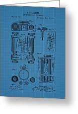 First Computer Blueprint Patent Greeting Card