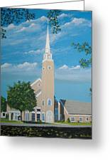First Congregational Church Greeting Card