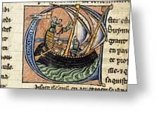First Crusade, 11th Century Greeting Card