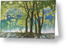 First Day Of Autumn Greeting Card