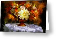 First Day Of Autumn - Still Life Greeting Card