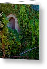 First Door On The Left Greeting Card by Bill Gallagher