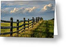 First Fence Greeting Card