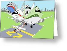 First Flight Greeting Card