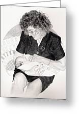 First Granddaughter Greeting Card