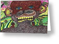 First Jungle Greeting Card