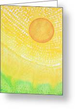 First Light Original Painting Greeting Card