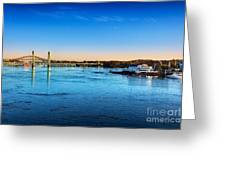 First Light Piscataqua River Greeting Card