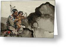 First Nations 38 Greeting Card