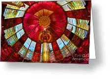 First Order Fresnel Lens Greeting Card