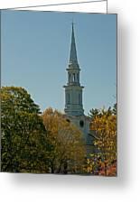 First Parish - Lexington Greeting Card