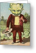 First Premium Cabbage Head Greeting Card