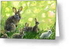 First Spring Greeting Card