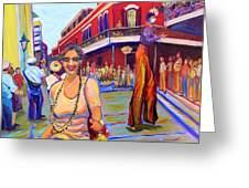 First Trip To New Orleans Greeting Card