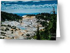 First View  8x10  Greeting Card