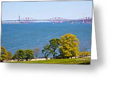 Firth Of Forth Greeting Card