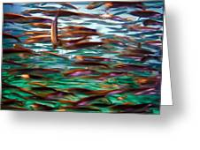 Fish 1 Greeting Card by Dawn Eshelman