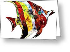 Fish 505-11-13 Marucii Greeting Card