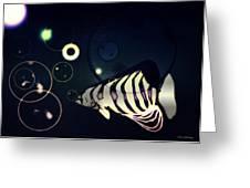 Fish Bubbles Greeting Card
