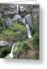 Fish Canyon Falls Greeting Card