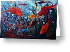 Fish Chatter Greeting Card