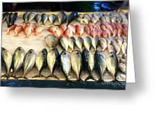 Fish For Sale In Taiwan Greeting Card