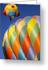 Fish In The Sky Greeting Card by Garry Gay