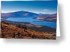 Fish Lake - Yukon Territory - Canada Greeting Card
