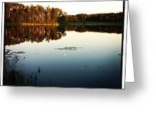 Fish Lake Evening Greeting Card