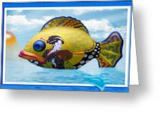 Fish Of The Orient Greeting Card