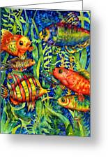 Fish Tales IIi Greeting Card