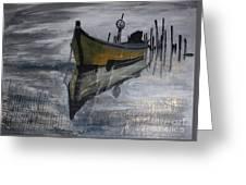 Fishboat Greeting Card