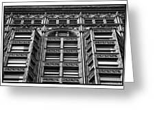 Fisher Building - 10.11.09_028 Greeting Card