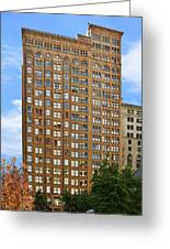 Fisher Building - A Neo-gothic Chicago Landmark Greeting Card