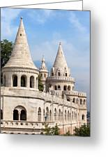 Fisherman Bastion In Budapest Greeting Card