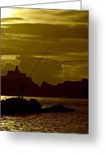 Fisherman  Greeting Card