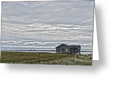 Fisherman Shack  Greeting Card