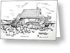 Fisherman's Cove Manasquan Nj Greeting Card by Melinda Saminski