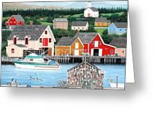Fisherman's Cove Greeting Card