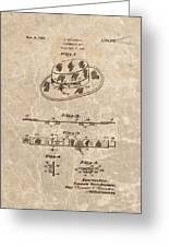 Fisherman's Hat Patent Greeting Card