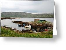 Fishermans Landing Greeting Card
