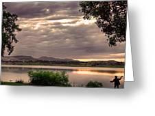 Fisherman's Sky Greeting Card