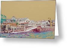 Fisherman's Village Greeting Card