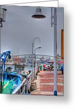 Fisherman's Wharf Taiwan Greeting Card