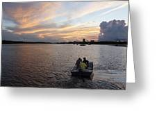 Fishers Of The Night Greeting Card