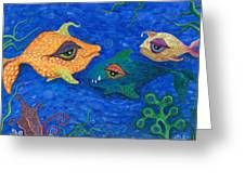 Fishin' For Smiles Greeting Card
