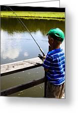 Fishin' Greeting Card