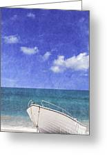 Fishing Boat Algarve Portugal Greeting Card