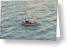 Fishing Boat Jean Greeting Card