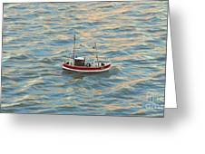 Fishing Boat Jean Greeting Card